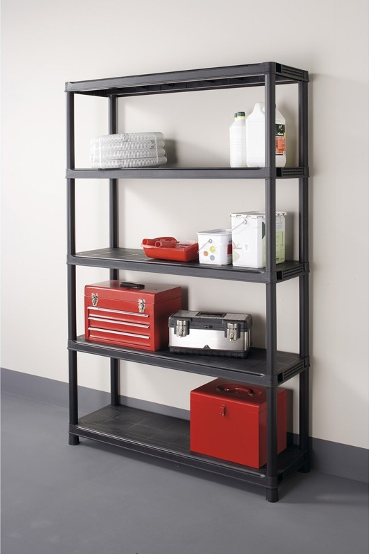 etagere de rangement garage. Black Bedroom Furniture Sets. Home Design Ideas
